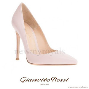 Crown Princess Mary Style Gianvito ROSSI  Rose pink pointed toe pump