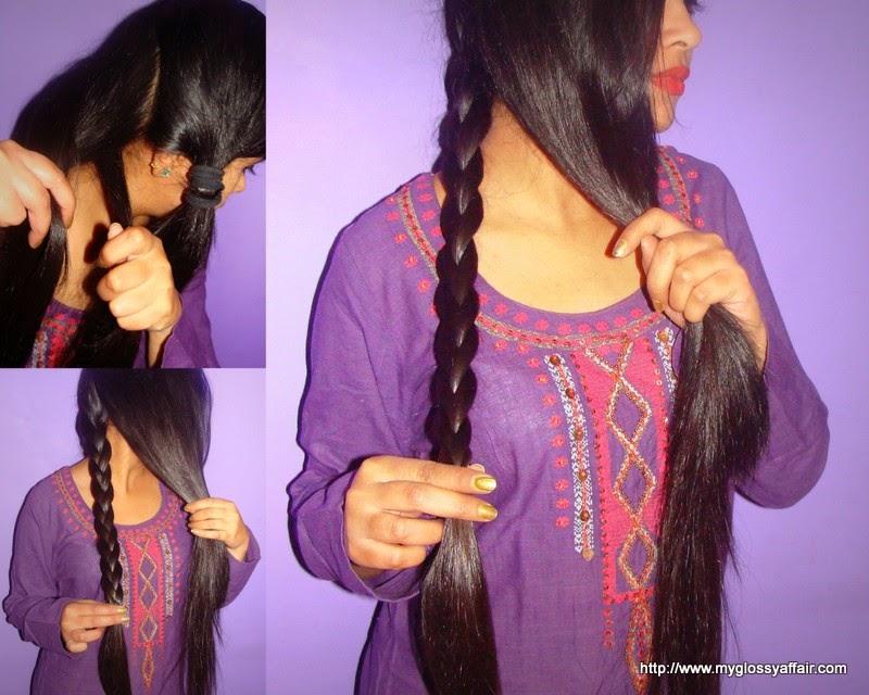 Mermaid Tail Braid Hairstyle Tutorial