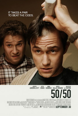 50 50 movie poster film review Seth Rogen Joseph Gordon-Levitt
