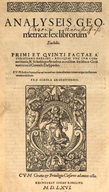 « Euclide, élève d'Abraham » - Denys Roman