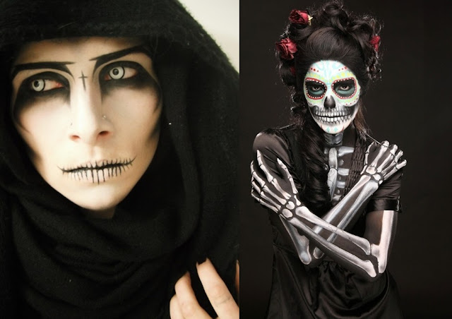 Halloween costumes and makeup ideas Halloween music too - Costumes And Makeup