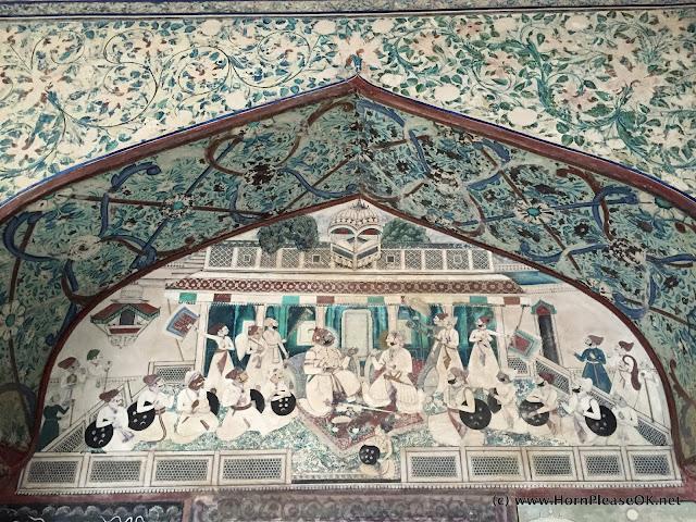 Bundi Chitrashala fresco
