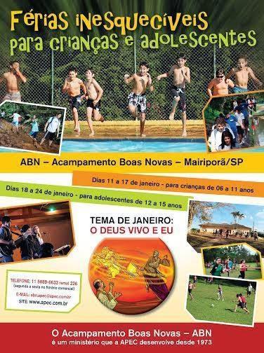 Acampamento de férias com APEC.