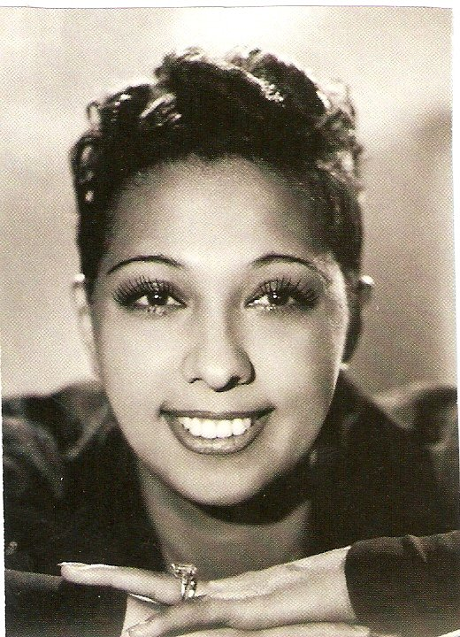 A portrait of Josephine Baker