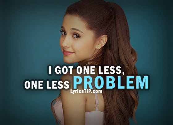 ARIANA GRANDE - PROBLEM LYRICS MP3 2014