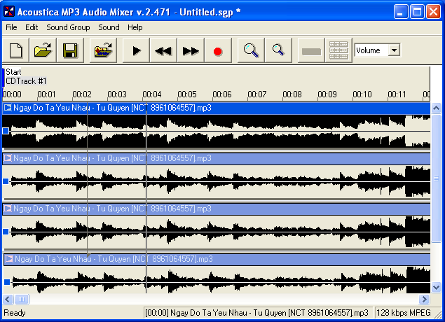 FREE SOFTWARE - Mac OSX / PC - Win: Acoustica MP3 Audio ...