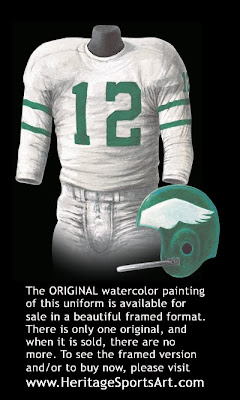Philadelphia Eagles 1959 uniform