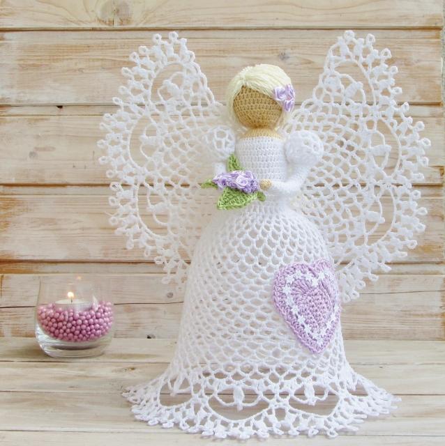 Схемы ангела амигуруми