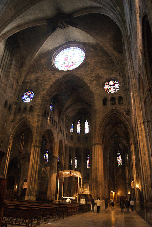 Interior de La Catedral de Lerida