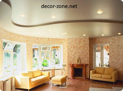 ceiling designs for small living room