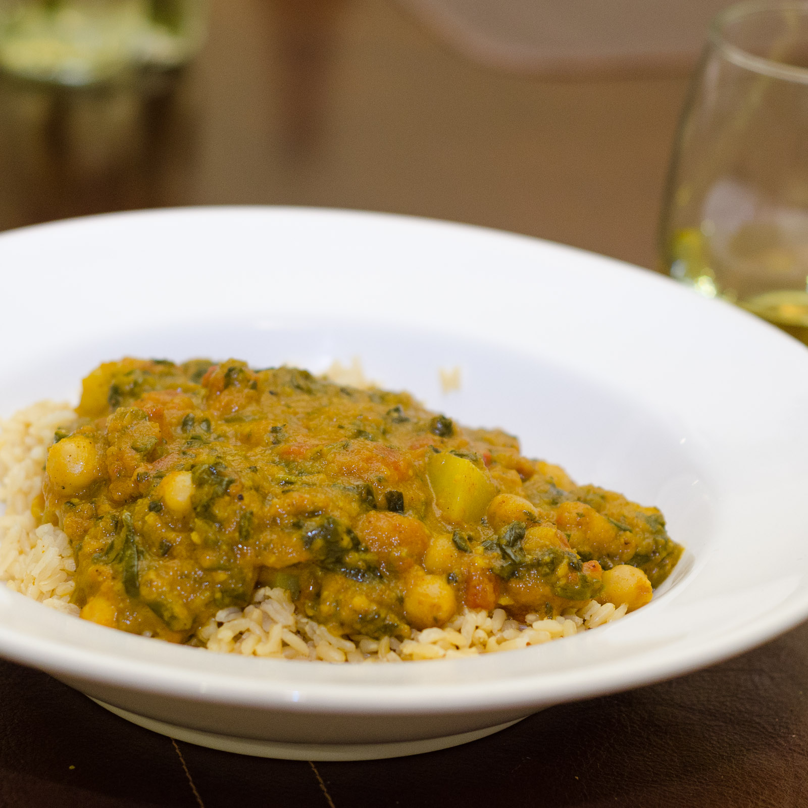spinach potato and chickpea curry everyone loves a great curry but not ...