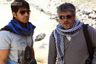 Ajith and Arya in Aarambam