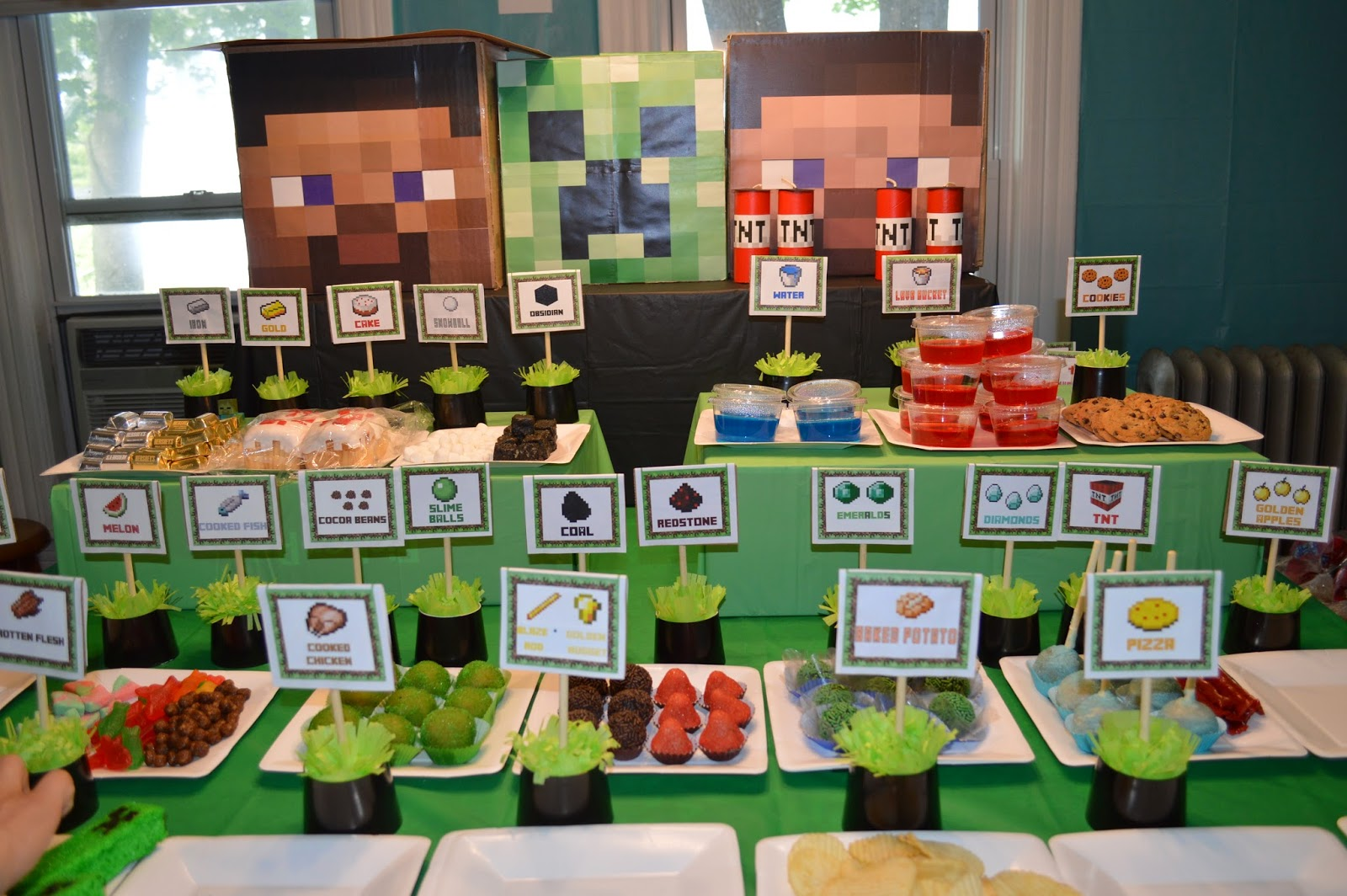 Satisfactory image throughout minecraft party ideas printable