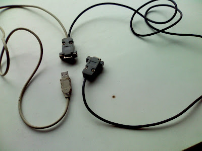 RS232 to RS232 and RS232 to USB in one cable