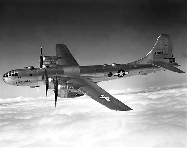 B 29 Superfortress American bomber