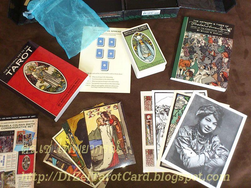 PCS Commemorative Smith-Waite Tarot Centennial Postcard Portrait Smith-Waite Tarot 100 years Rider-Waite ไพ่ทาโรต์ ไพ่ไรเดอร์เวต ไรเดอร์เวท ฉลอง ร้อยปี ไพ่ไรเดอร์