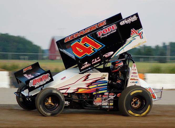 Sprint Car Jack : Jason johnson named north american sprint car quot