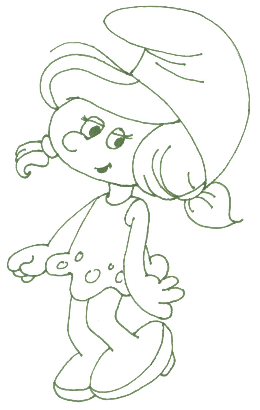 Jarvis Varnado 6 Smurfette Coloring Pages Smurfette Coloring Pages