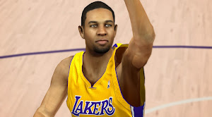 NBA 2k14 Xavier Henry Cyberface Patch