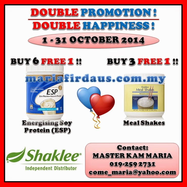 Promotion Oct 2014!!