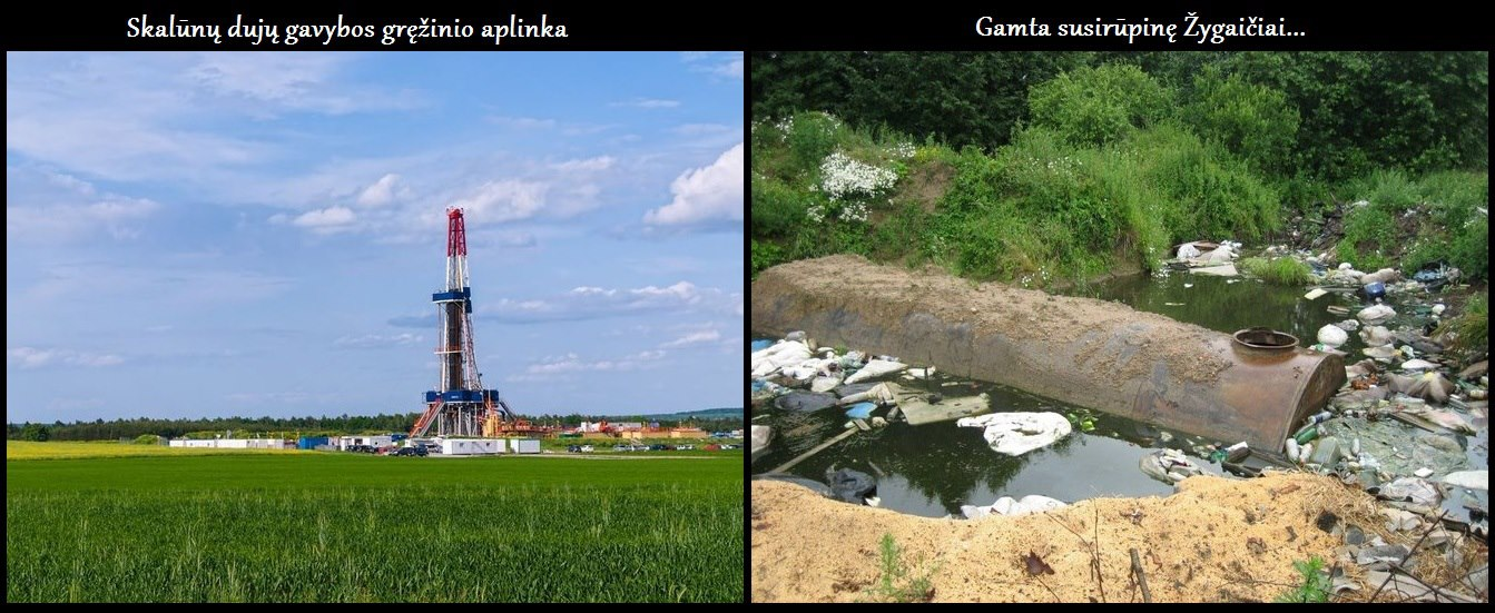 Skalūnų dujų gavybos gręžiniai