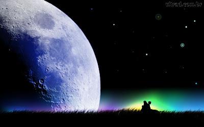 Sob a Lua