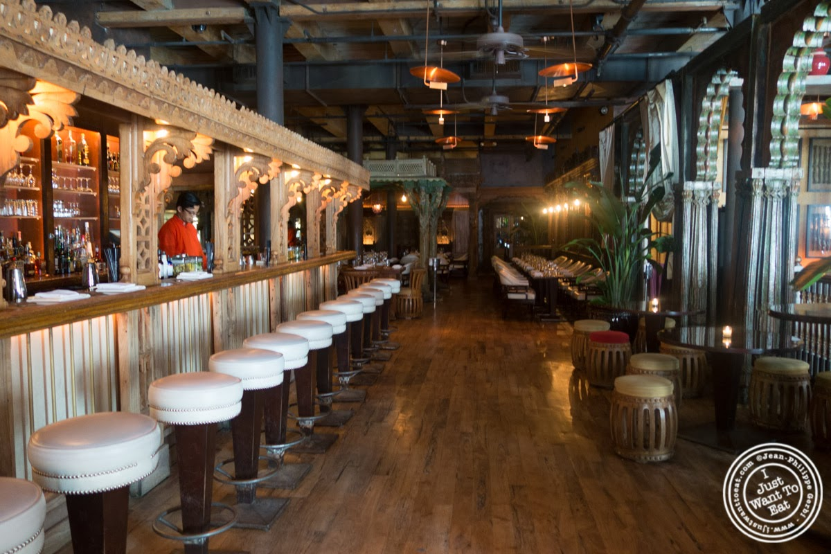 image of bar at Spice Market in the Meatpacking District, NYC, New York