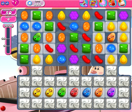 Candy Crush Saga 385