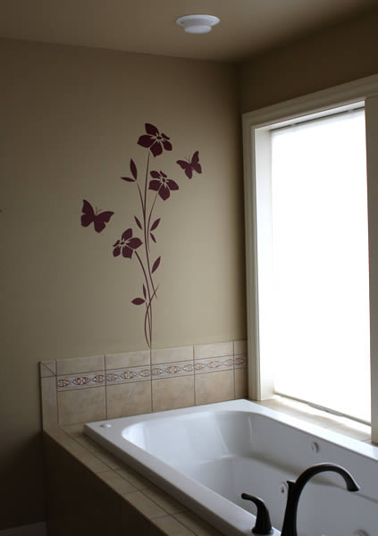 Vinyl Stickers For Tiles Images 33 Wall Painting Designs To Make Your Living Room Luxurious 10