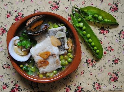 recette espagnole colin sauce verte