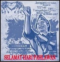 SELAMAT HARI PAHLAWAN 10 NOVEMBER 2014