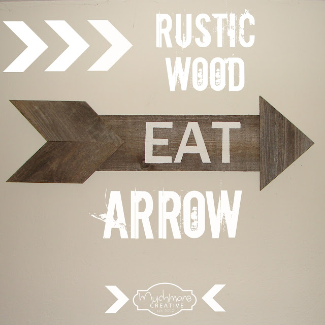 Reclaimed Wood Arrow