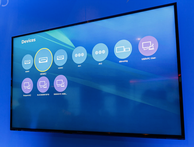 Devices Panasonic Reveals its 4K TV Runs Firefox OS