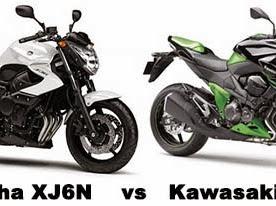 Kawasaki Z800 VS Yamaha XJ6 | Spesifikasi
