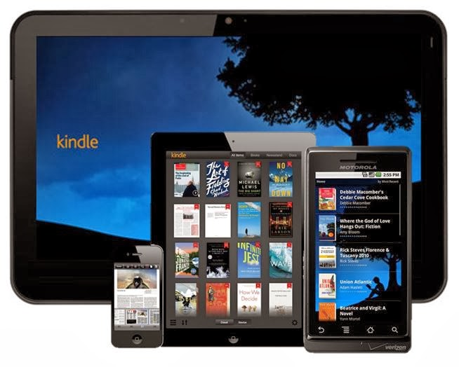 Download free kindle app!