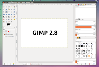 gimp 2.8 single window screenshot