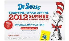 Dr. Seuss Storytime 2012 Summer Reading Program