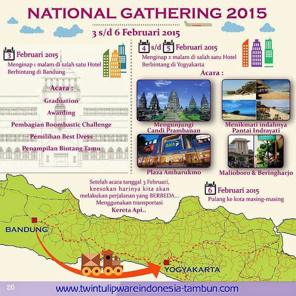 National Gathering Tulipware 2015