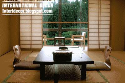 Interior Design 2014: Japanese dining rooms furniture, designs, ideas