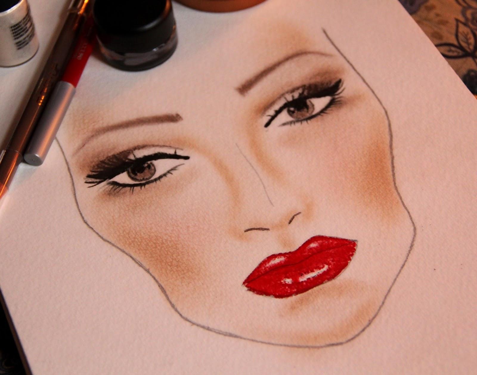 Как сделать прорисованное фото
