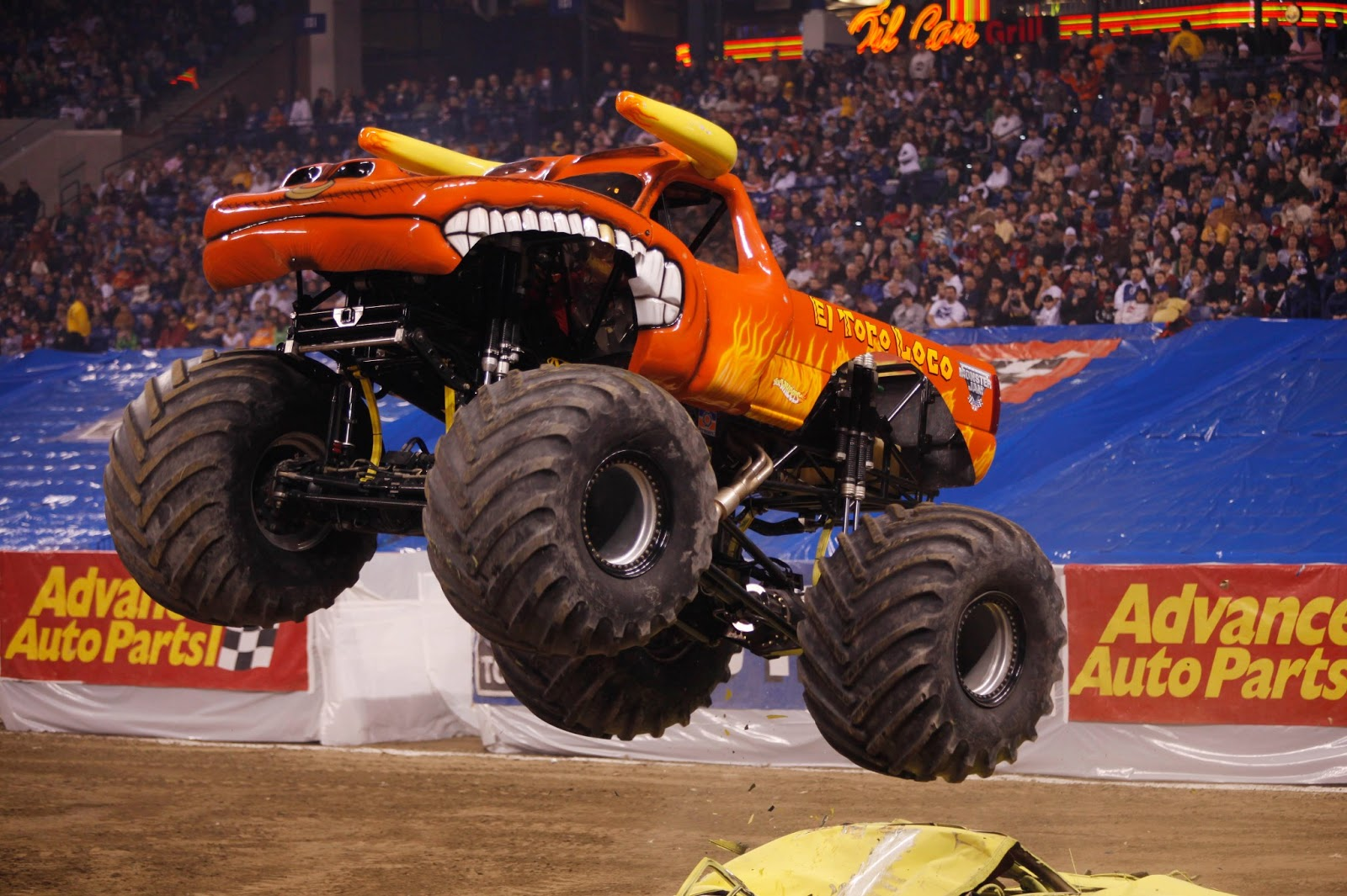 Get to know the drivers of the monster trucks by getting a Monster Jam Pit Party ticket or attending one of the autograph sessions. Even if you've never been to a Monster Jam show before, take the chance on a unique experience! The Monster Jam will be one of the most raucous, exciting, one-of-a-kind events you've ever been to!