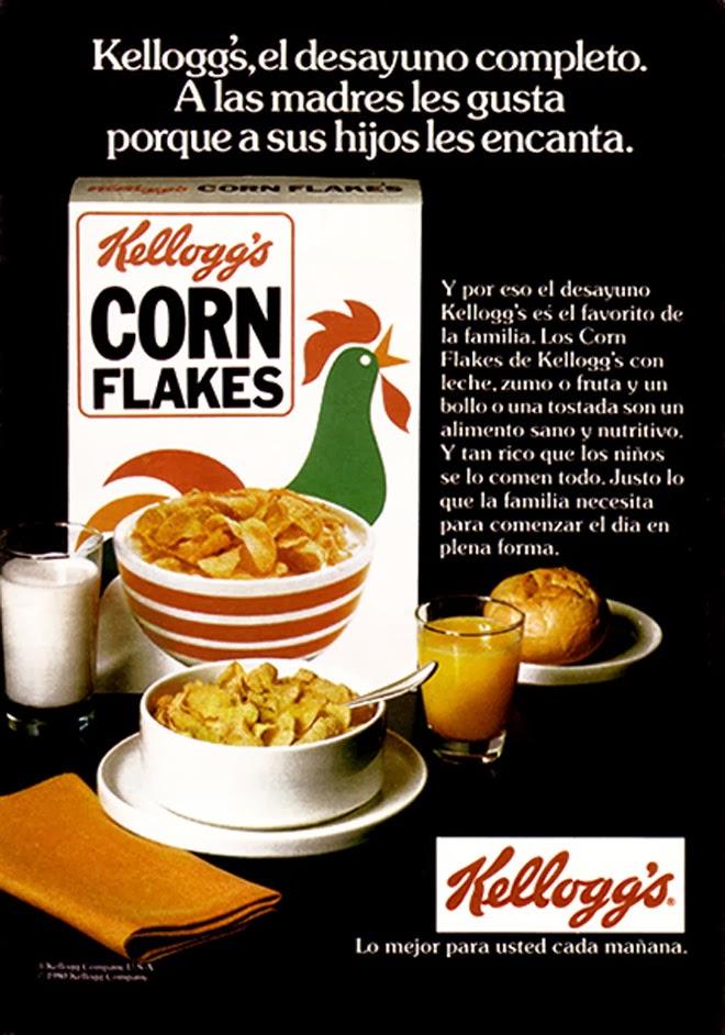 Kelloggs Publicidad creativa de los años 80