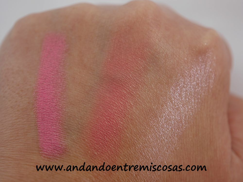 Swatches I Heart Makeup
