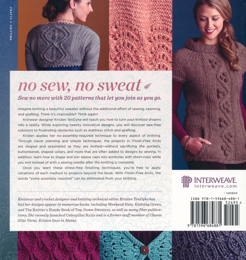 Kristen TenDyke\'s Blog: Autographed Copies of Finish-Free Knits ...