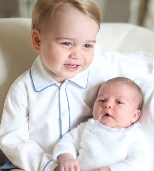 Prince George And Princess Charlotte Of Cambridge, New Pictures Released