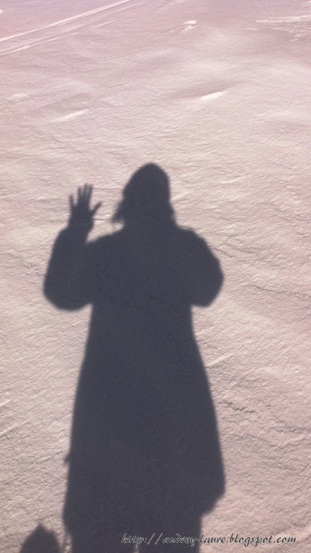 ombre sur la neige