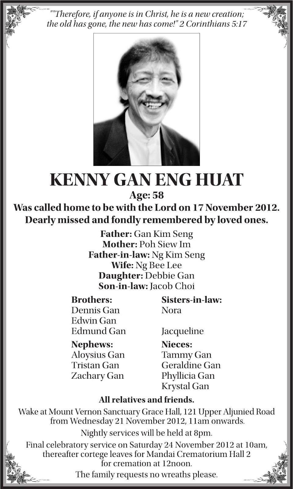 Obituary Format For Newspaper Erkalnathandedecker