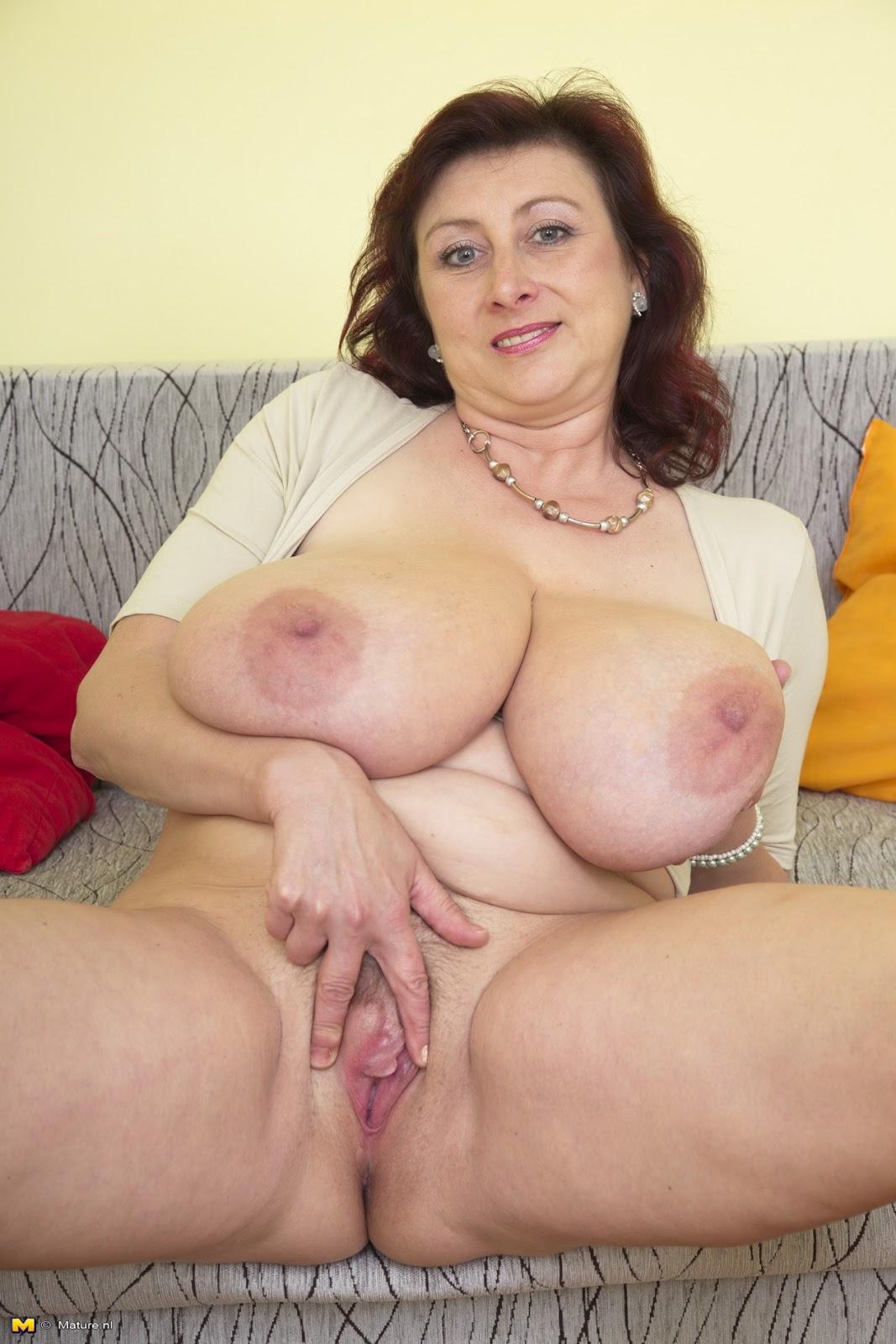 Mature big tit moms