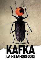 """Portada del libro """"La metamorfosis"""", de Franz Kafka"""