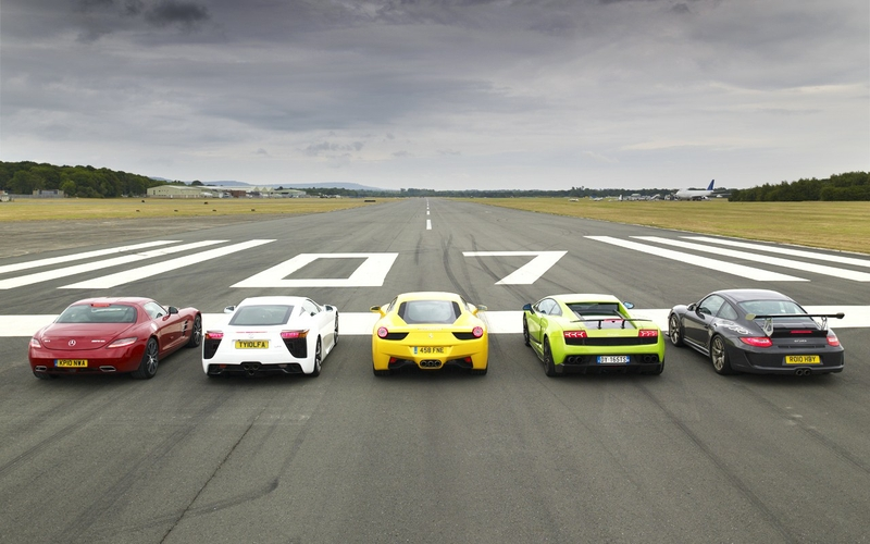 top gear cars